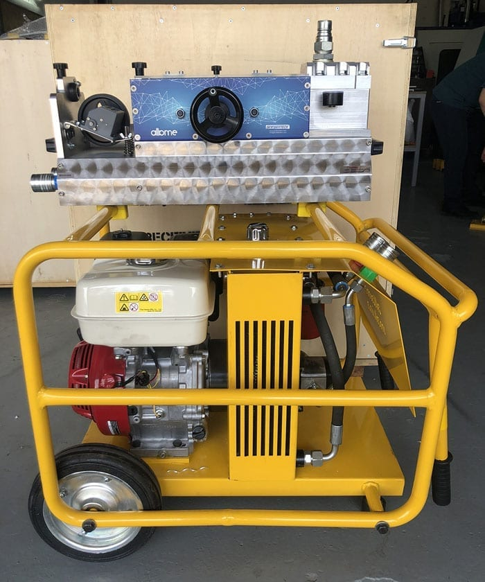 HydroSKY Cable blowing machine Allame