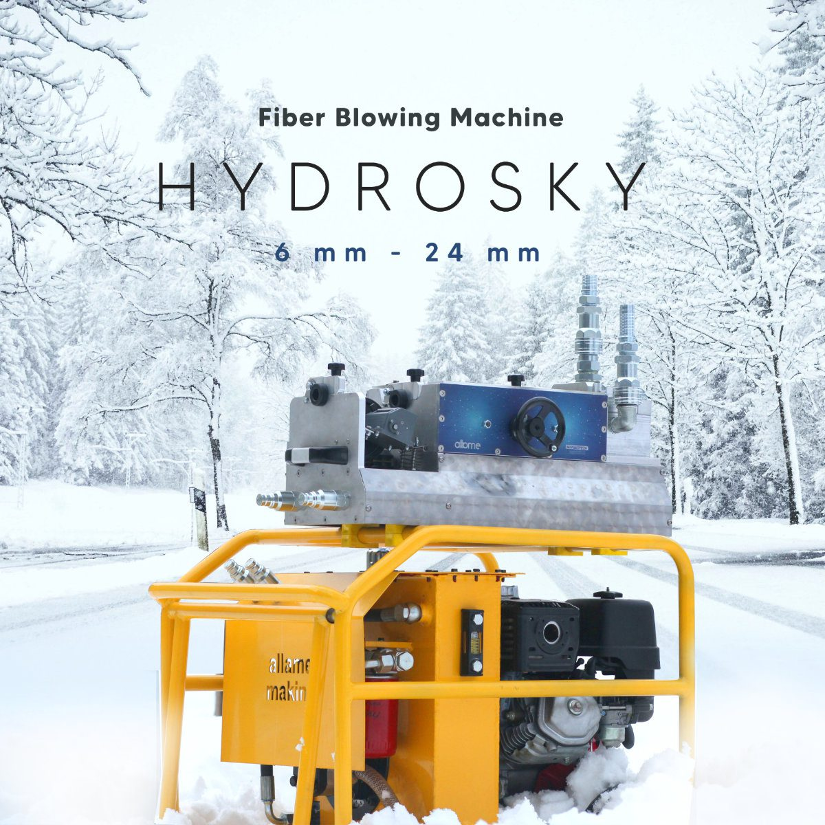 hydrosky cable blowing machine best quality