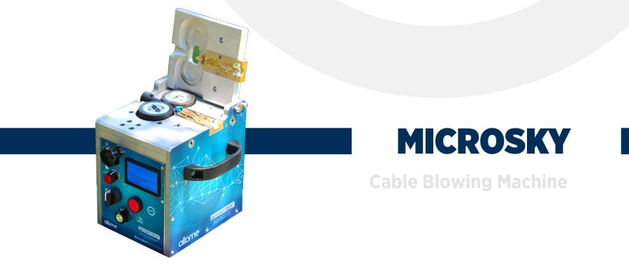 Cable Blowing Machine banner