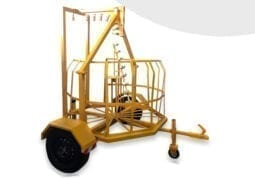 Cable Reel Trailer for fiber cables