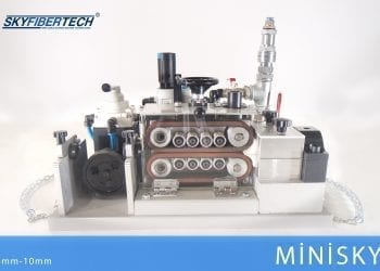 Fiber blowing machine MiniSKY!
