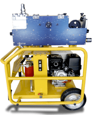 Hydrosky cable blowing machine
