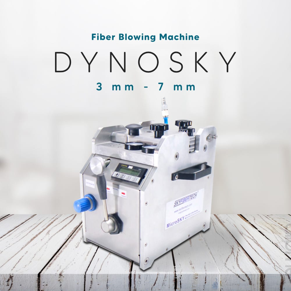 dynosky fiber optic cable blowing machine