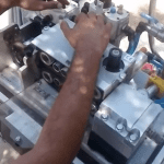 MiniSKY cable blowing machine