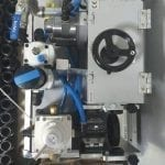 Skyjet cable blowing machine