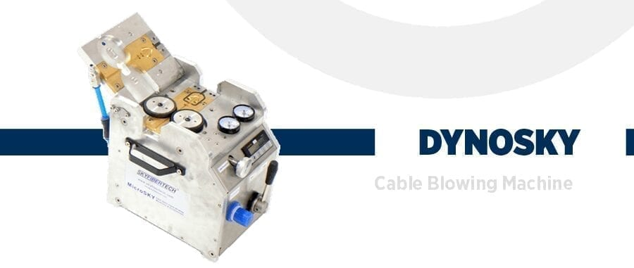 Fiber cable blowing machine dynosky