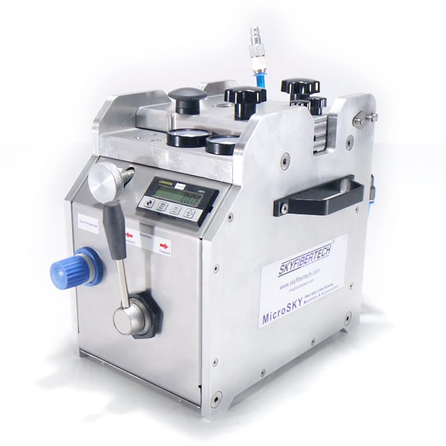 Fiber optic cable blowing machine dynosky