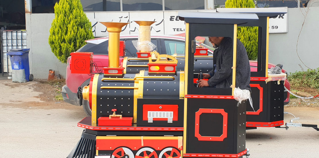 trackless train little efe