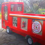 electric fire car for kids