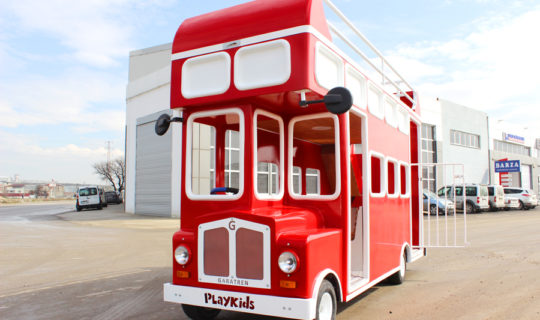 electric london bus for kids