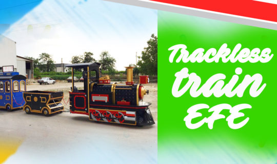 trackless train for kids and adults