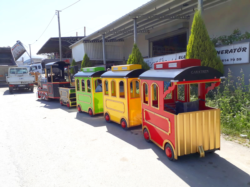 electric mall trains