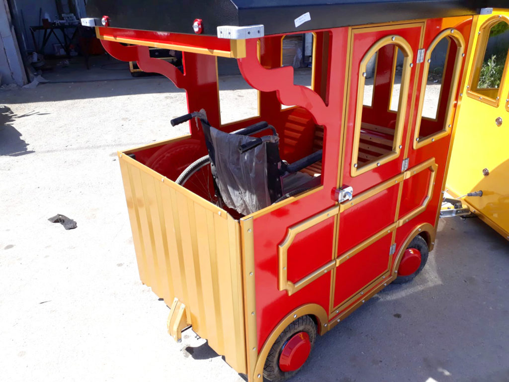 electric trackless trains for sale