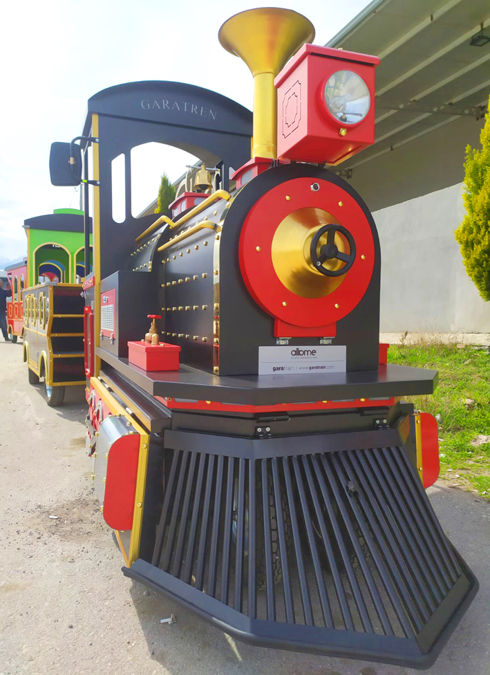 electric trackless train maxi model
