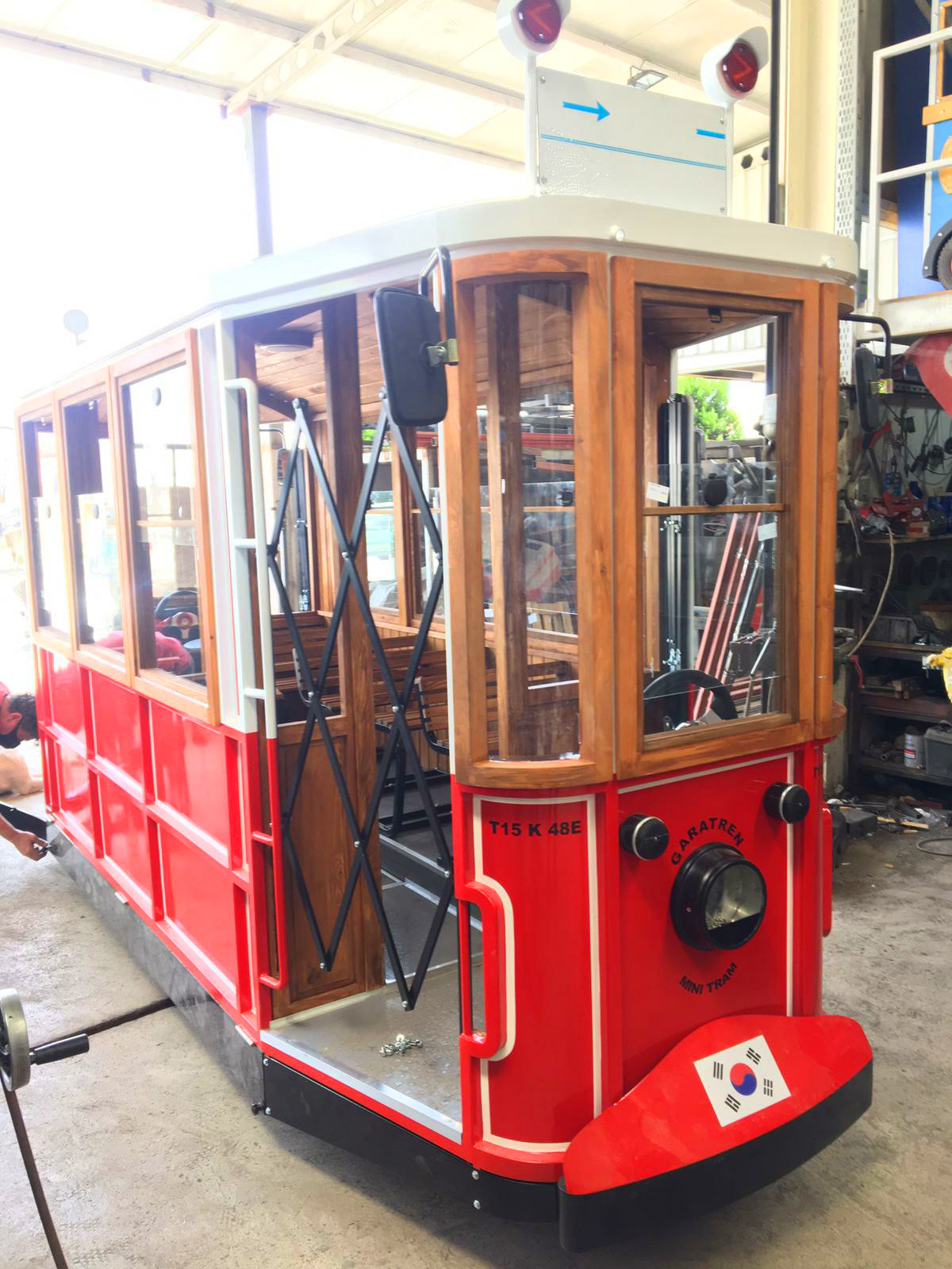 electric tram for kids