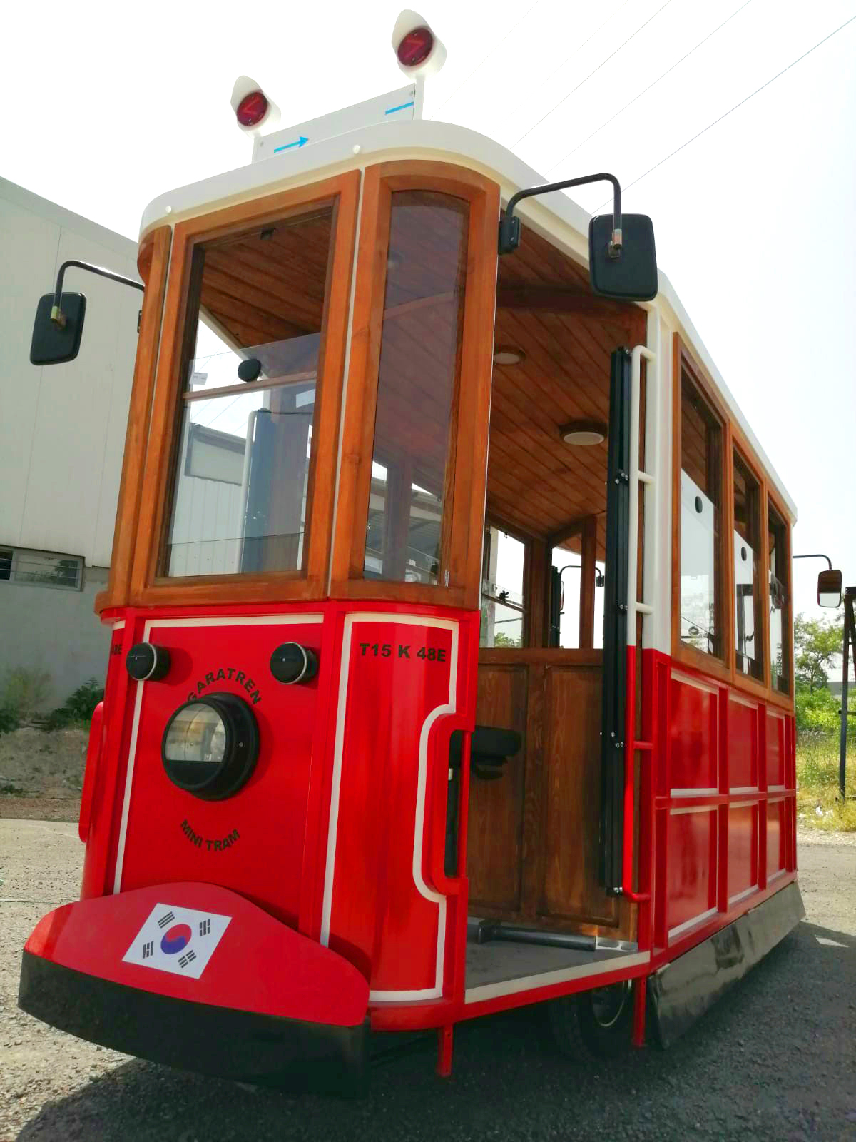 electric tram for sale