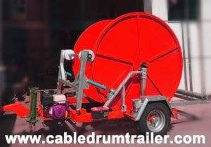 full hydraulic cable drum trailers 10 tons cable drum trailers - home